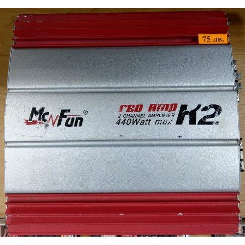 MacFun Red Amp K2