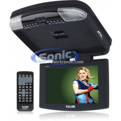 9.2 Flip Down TFT LCD DVD Player